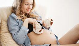 Hamilelige Hazirlanirken